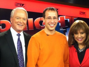 Ralf Kotulla and the TMJ4 news anchors